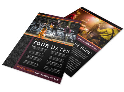 Band Upcoming Shows Flyer Template a7fhvrwxyz preview