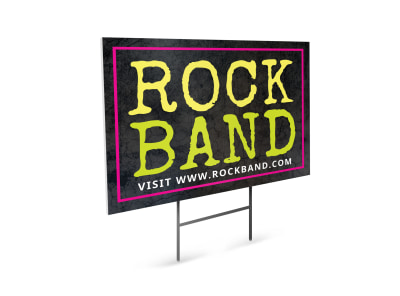 Band Yard Sign Template 6sk5t8at7p preview
