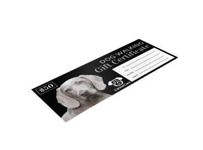 Dog Walking Gift Certificate Template 9iw5qd8nji preview