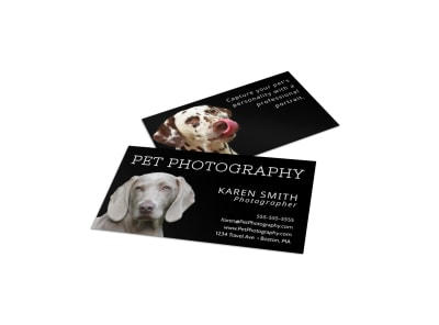 Pet Photography Business Card Template a59uvxaxuj preview