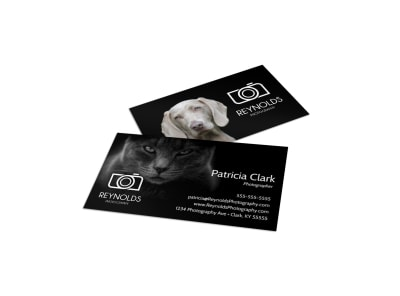 Pet Photography Business Card Template 6hhypkksqy preview