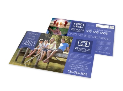 Family Photography EDDM Postcard Template tekgydjlbf preview