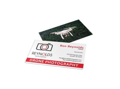 Drone Photography Business Card Template hjaet0xtu1 preview
