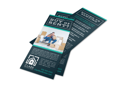 Buy vs Rent Real Estate Flyer Template ofhcrtdmq7 preview