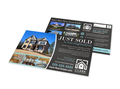 Just Sold Real Estate EDDM Postcard Template 2u8exd3het preview