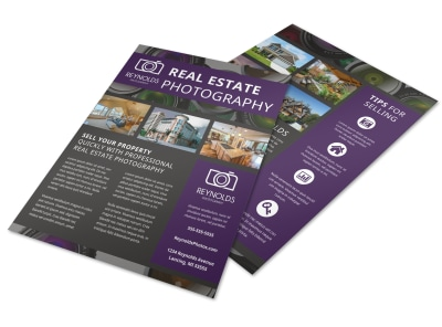 Real Estate Photography Flyer Template z39f9d50nf preview