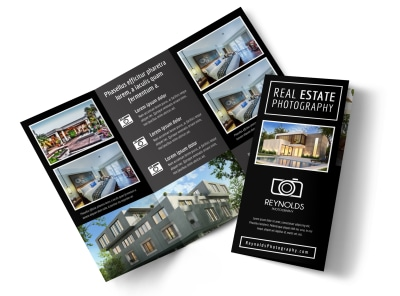 Real Estate Photography Tri-Fold Brochure Template vh1x47fi6e preview