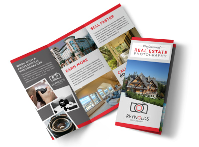 Real Estate Photography Tri-Fold Brochure Template 74k06hq2u2 preview