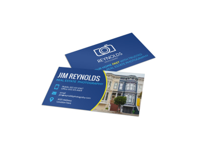 Real Estate Photography Business Card Template fz1z05nxv5 preview