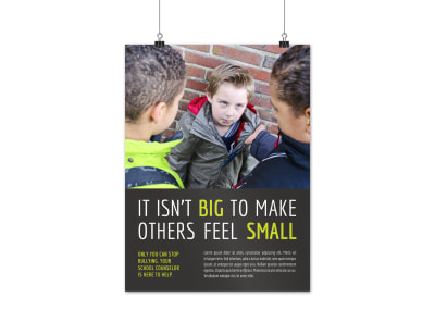 School Counseling Poster Template wdgva5pb78 preview