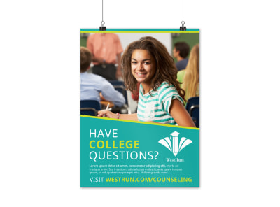 School Counseling Poster Template tsxagqfa7n preview