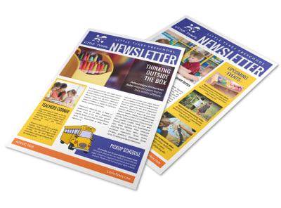 Preschool Newsletter Template gb0bk9iw0x preview