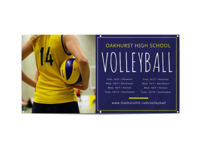 Volleyball Banner Template r1t8of9w71 preview