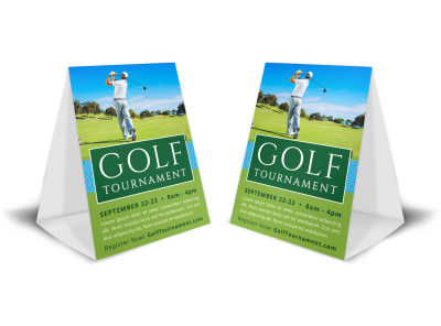 Golf Tournament Table Tent Template xx0h4gtqgw preview