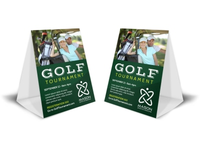 Golf Tournament Table Tent Template bxebs82glq preview