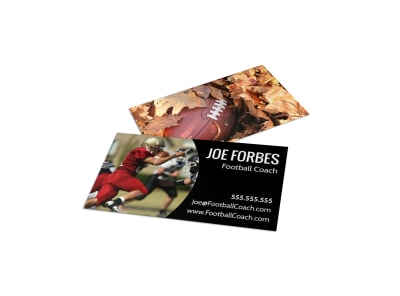 Football Business Card Template a7cqm59hb4 preview