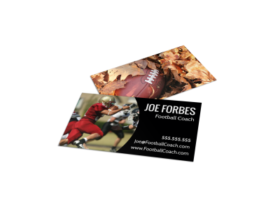 Sports Business Cards Template Preview