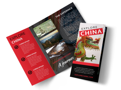 China Travel Tri-Fold Brochure Template 29plun9fe5 preview