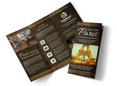 Paris Travel Tri-Fold Brochure Template zildsliwl3 preview