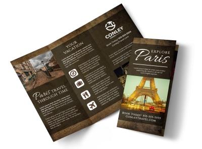 Paris Travel Tri-Fold Brochure Template zildsliwl3 preview
