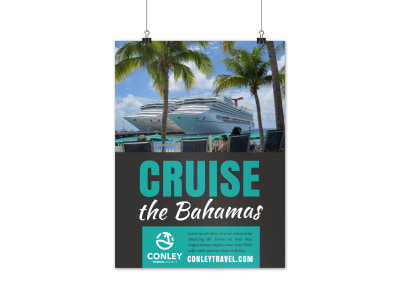 Travel Agency Poster Template 780lsscgfr preview