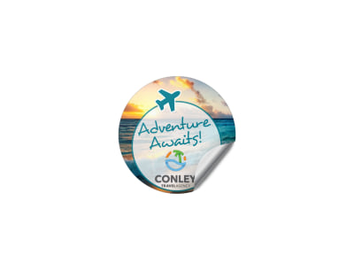 Travel Agency Sticker Template 41g7nh3qmu preview