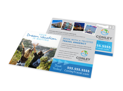 Travel Agent EDDM Postcard Template zv3up1z5vc preview
