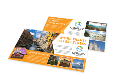 Travel Agent EDDM Postcard Template 957eblan1x preview
