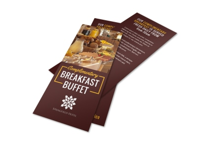Hotel Breakfast Flyer Template 0z3mhxfu7l preview