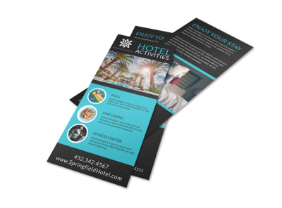 Hotel Activities Flyer Template we8kl1omnz preview