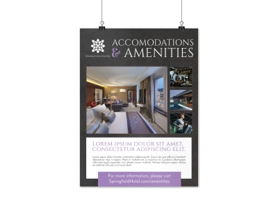 Hotel Accommodations & Amenities Poster Template f3zffnfha2 preview
