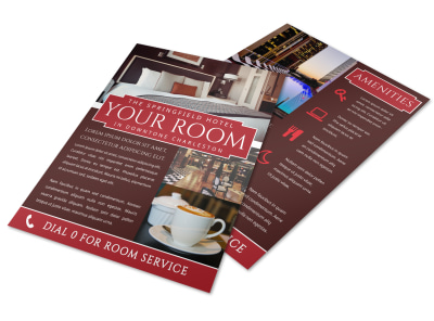 Hotel Room Detail Flyer Template ti3v26wihi preview