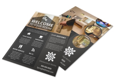 Hotel Room Detail Flyer Template de8fflmzyo preview