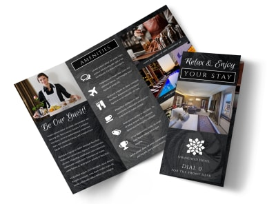Hotel Room Detail Tri-Fold Brochure Template wgmvgnaovz preview