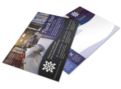 Hotel Thank You Postcard Template r3ekw62n82 preview