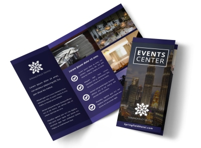 Hotel Event Center Tri-Fold Brochure Template 9wukmpju24 preview