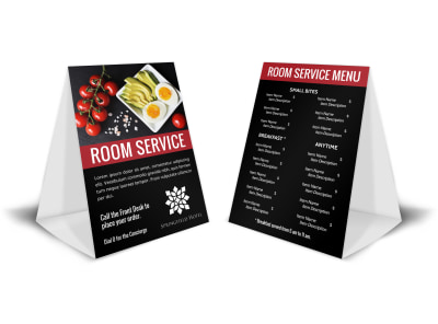 Hotel Room Service Table Tent Template 2jkrpme0z6 preview