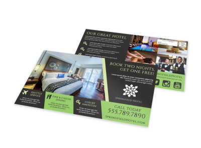 Hotel EDDM Postcard Template 9o1442z0xq preview