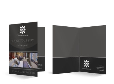 Hotel Bi-Fold Pocket Folder Template dm5d7aqiag preview