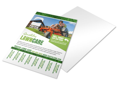 Lawn Care Tear Off Flyer Template ny08bg3n08 preview