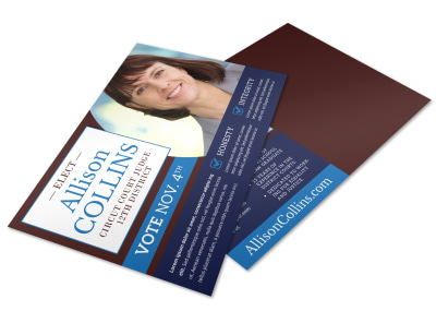 Campaign Postcard Template xr9pgsv9gt preview