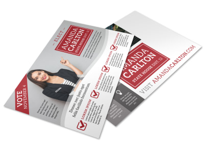 Campaign Postcard Template cns463mphm preview