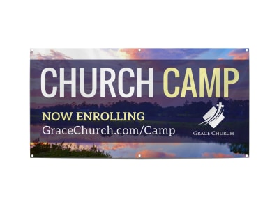 Church Camp Banner Template b179jfoquy preview