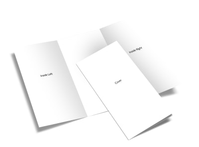 Blank Canvas Tri Fold Brochure Template 2 preview