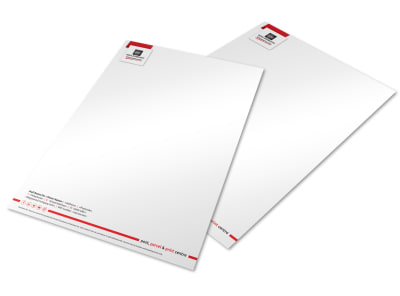 Mail Boxes Etc. Letterhead Template preview