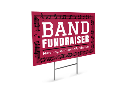 Fundraising Yard Sign Template 33bv74xjmc preview