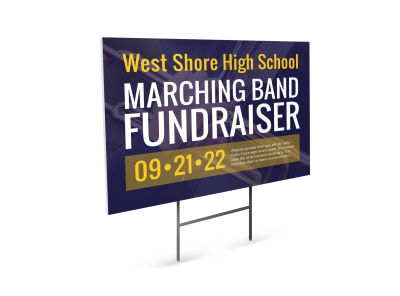 Fundraising Yard Sign Template i4lqabw64l preview