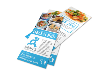 Delivery Service Restaurant Flyer Template o004ogz3k2 preview