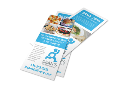 Delivery Service Restaurant Flyer Template v582ou5yf1 preview