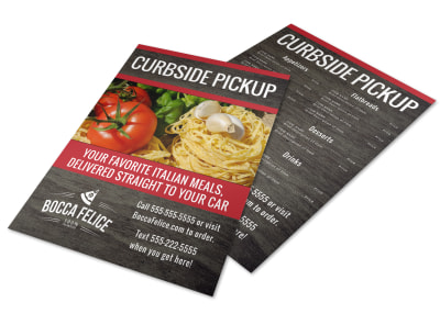 Curbside Pickup Restaurant Flyer Template 8s7lg0mq33 preview